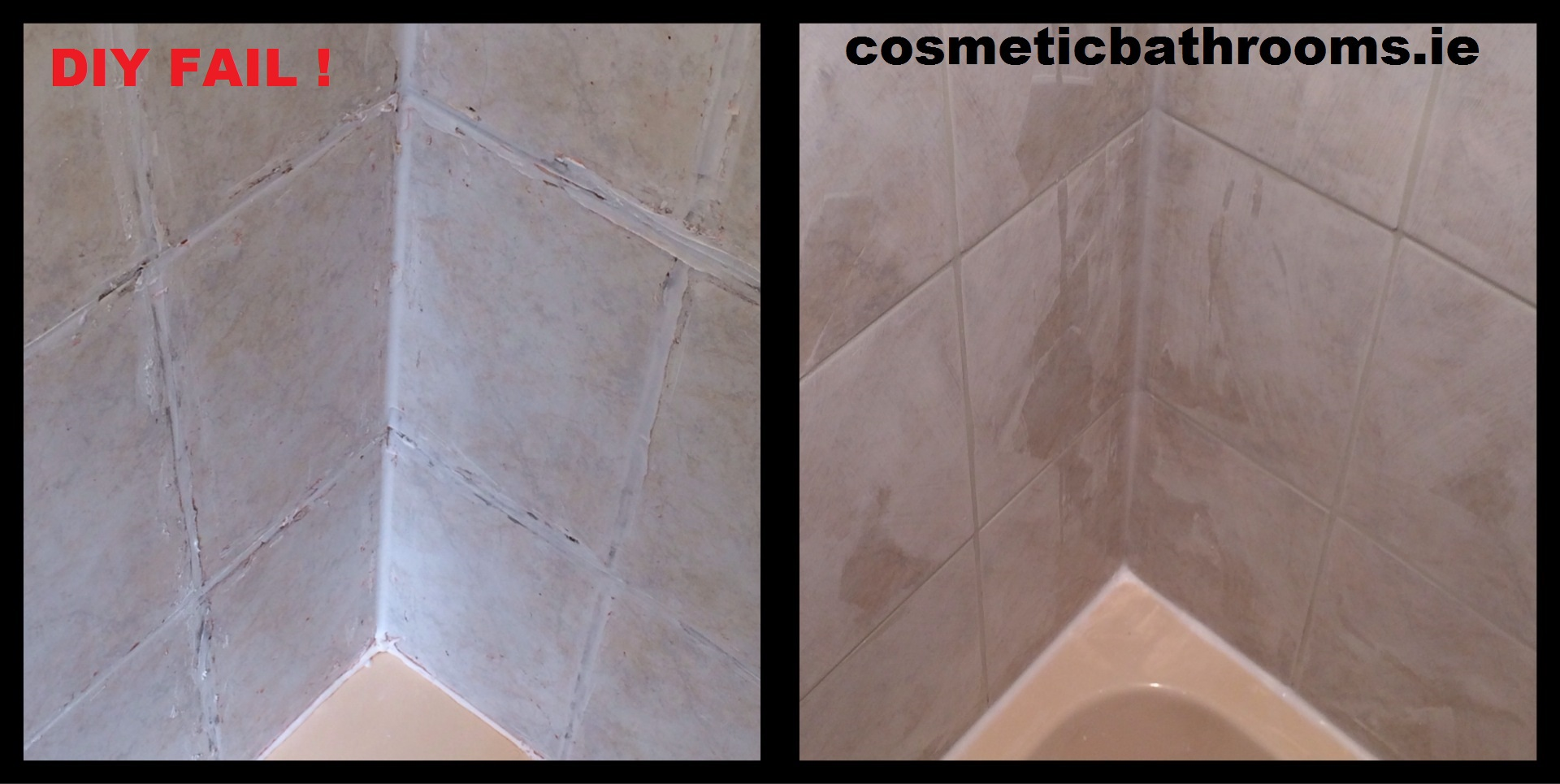 How to remove bathroom silicone - Silicone Paint And Grout Removal Than Re Grouted And Sealed 2of Diy Bathroom How
