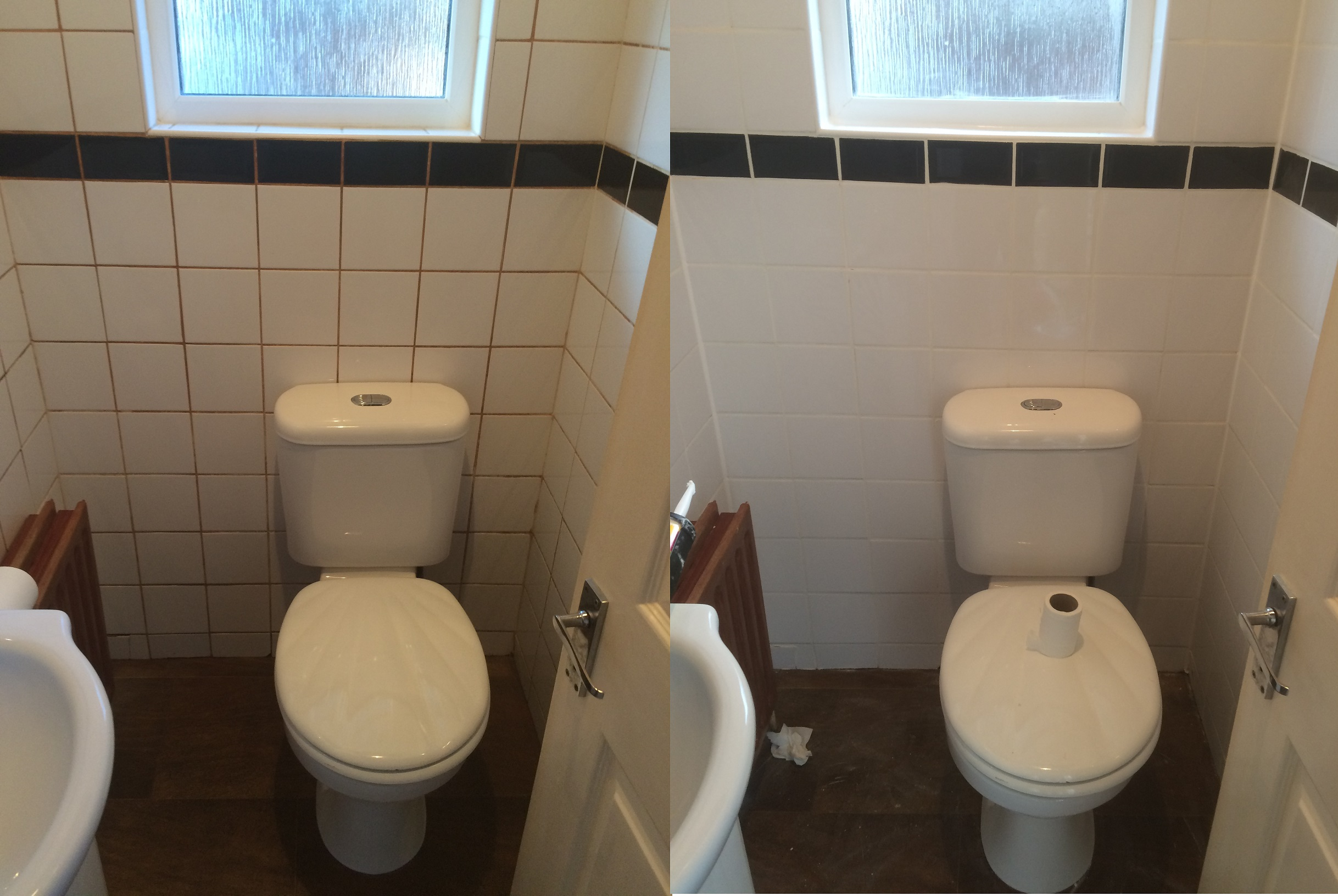 Tile Re Grout. Downstairs Bathroom In Artine (picture 1 Of 2) Part 34