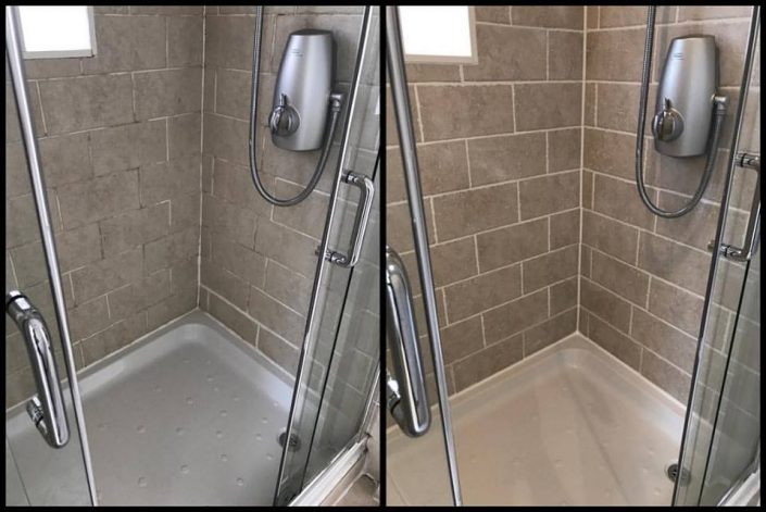 Shower Restoration - Tile Regrouting & Silicone Resealing