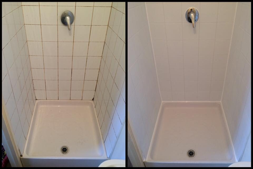 Shower Restoration Cosmetic Bathrooms - Clean and reseal grout