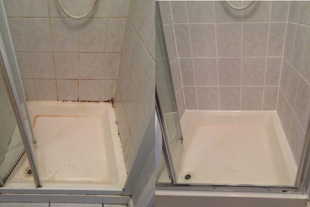 SHOWER RESTORATION WITH NEW SHOWER DOORS