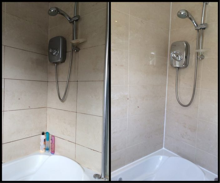 DEEP CLEAN, TILE RE-GROUT AND RESEAL
