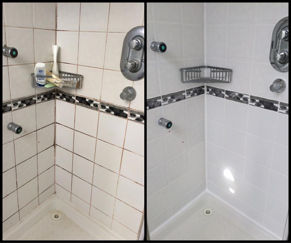 FULL SHOWER AREA RESTORATION